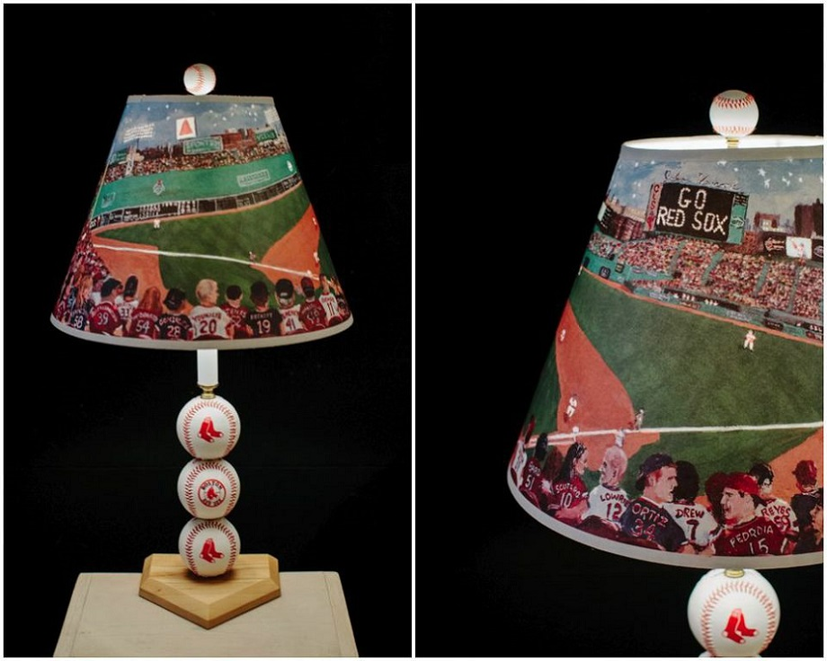 Were loving baseball and the boston red sox lamp concord lamp concord lampe and shade mozeypictures Choice Image