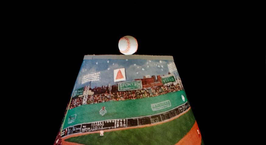 Baseball Finial - Concord Lamp and Shade