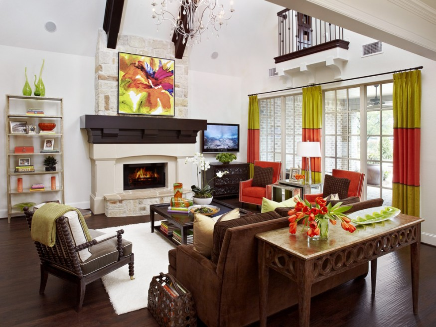 Trending: Color Blocking Your Interiors - Concord Lamp and Shade