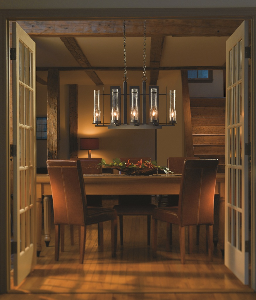 Hubbardton Forge Synchronicity: Hubbardton Forge Vermont Lighting. Vermont Style Home