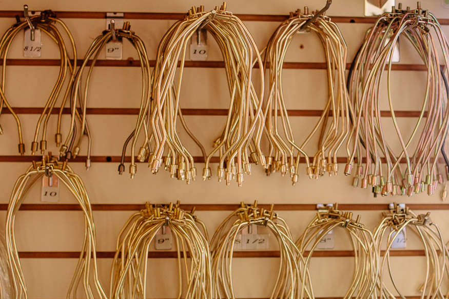 Learning about Lamp Harps - Concord Lamp and Shade