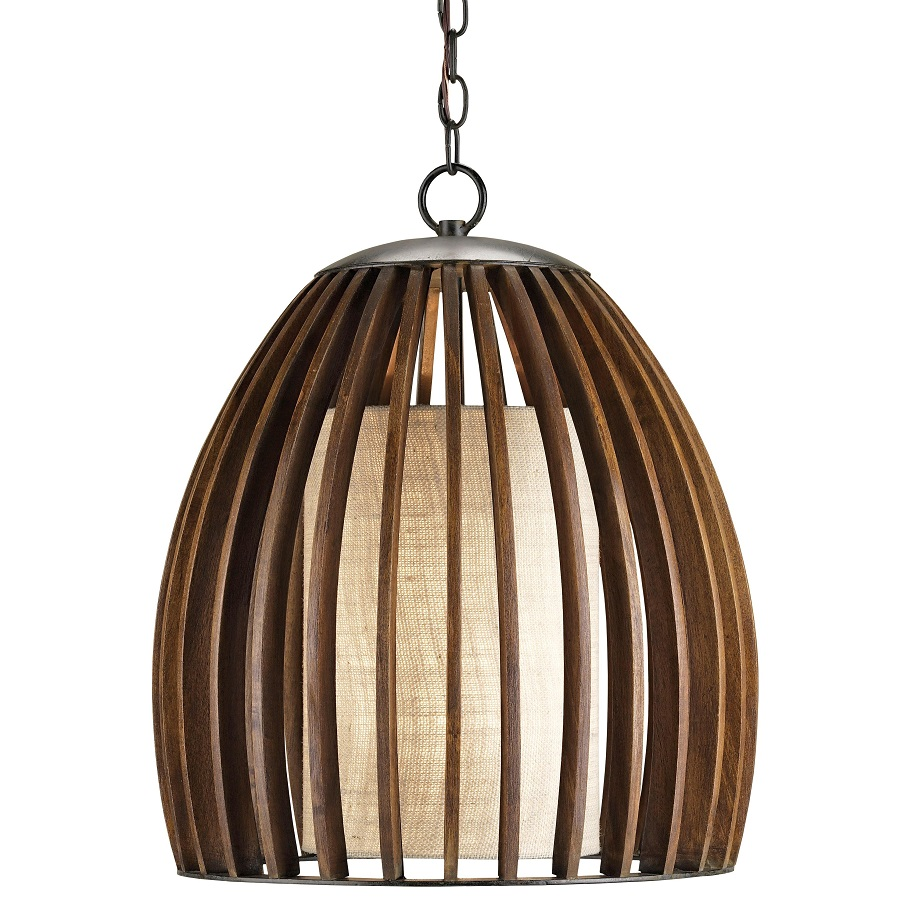 The Currey & Co Carling Pendant lam