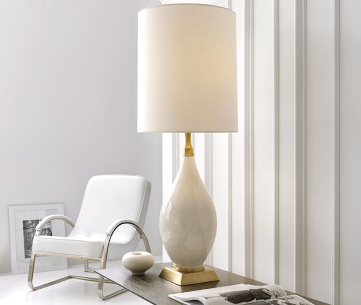 Cylinder lampshades concord lamp and shade we find that the standard round cylinder style lampshade work well but there are also a few variations on the cylinder theme that can be fun for the right aloadofball Choice Image
