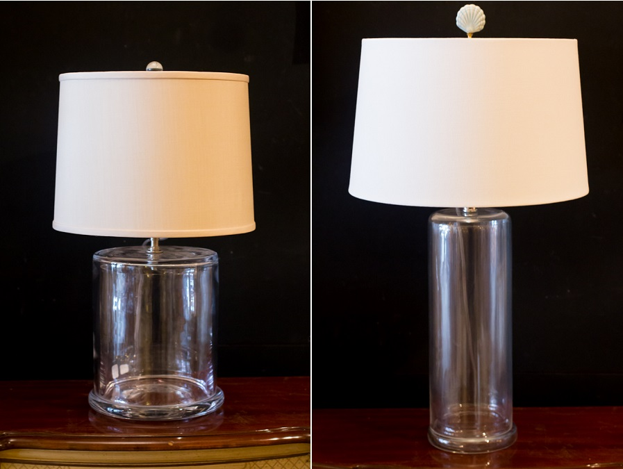 Fillable lamps