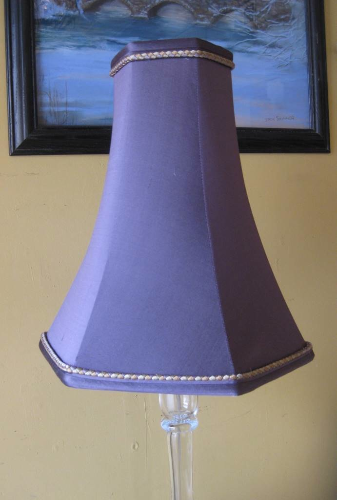 Image 5 Tall Hex Bell with Pomfret Lamp