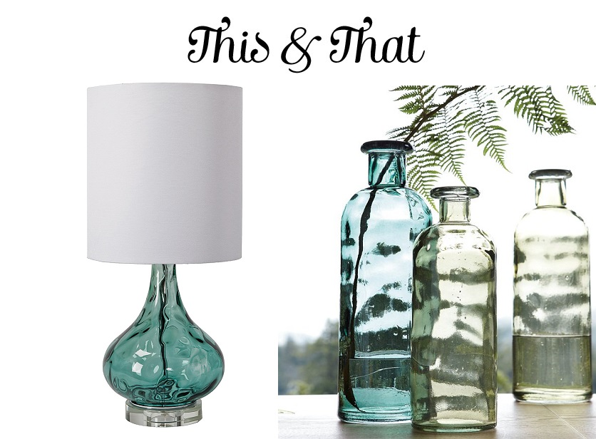 this that regina andrews lamp west elm recycled glass jugs