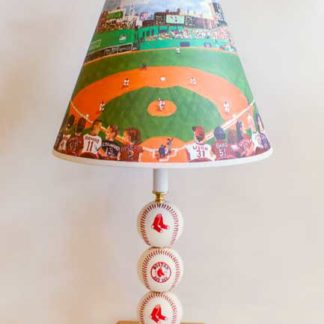 Boston Red Sox Table Lamp With Special Lampshade