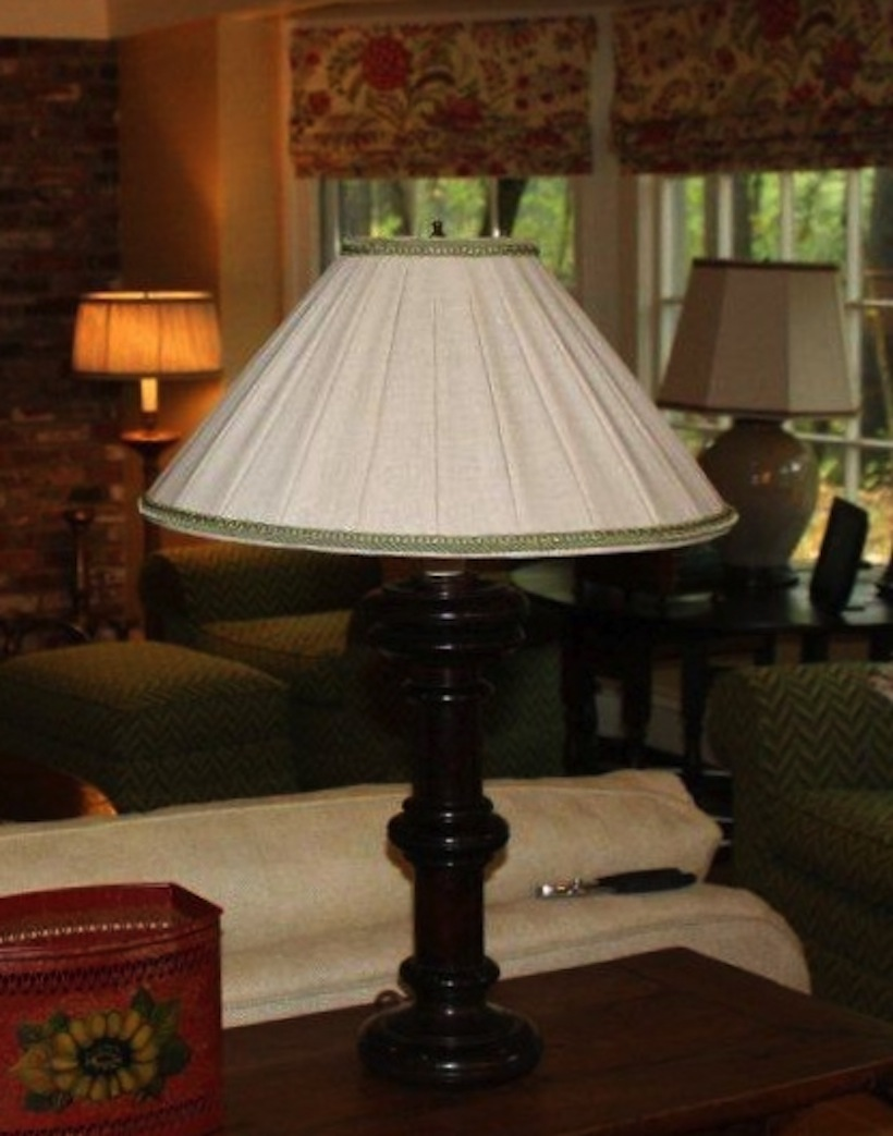 how choose to straight empire shades choosing a lampshade lining pleated large lamp