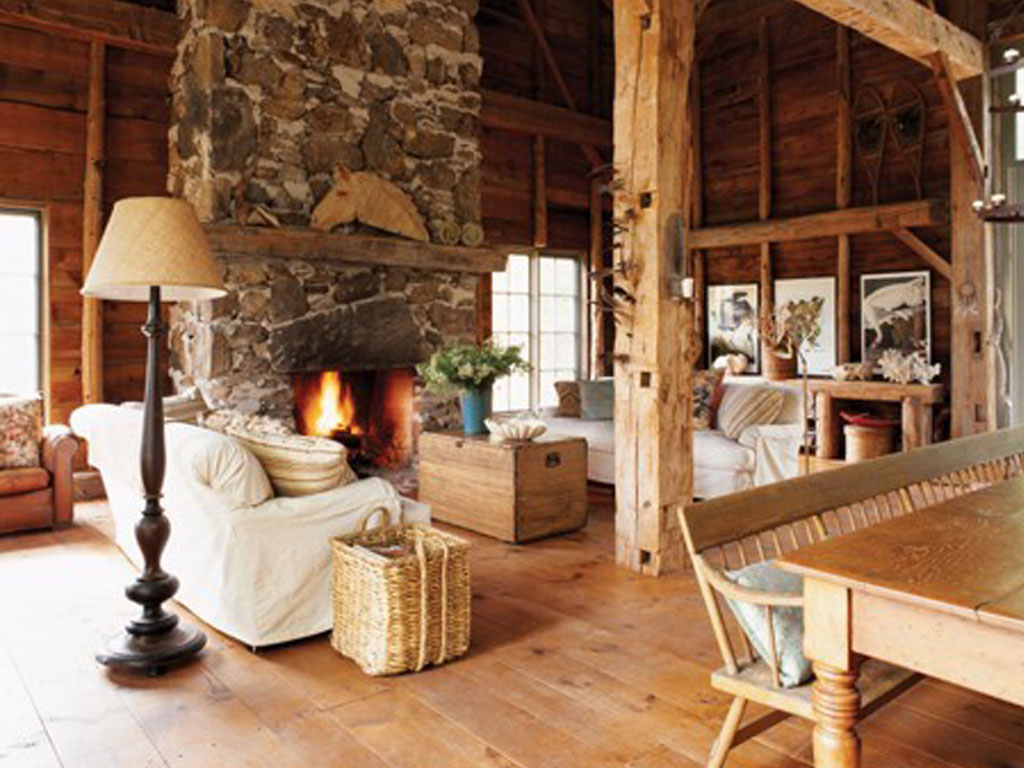 Rustic Lamps For Country Living