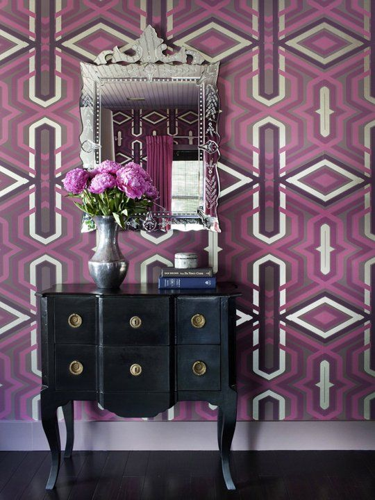 radiant orchid - foyer