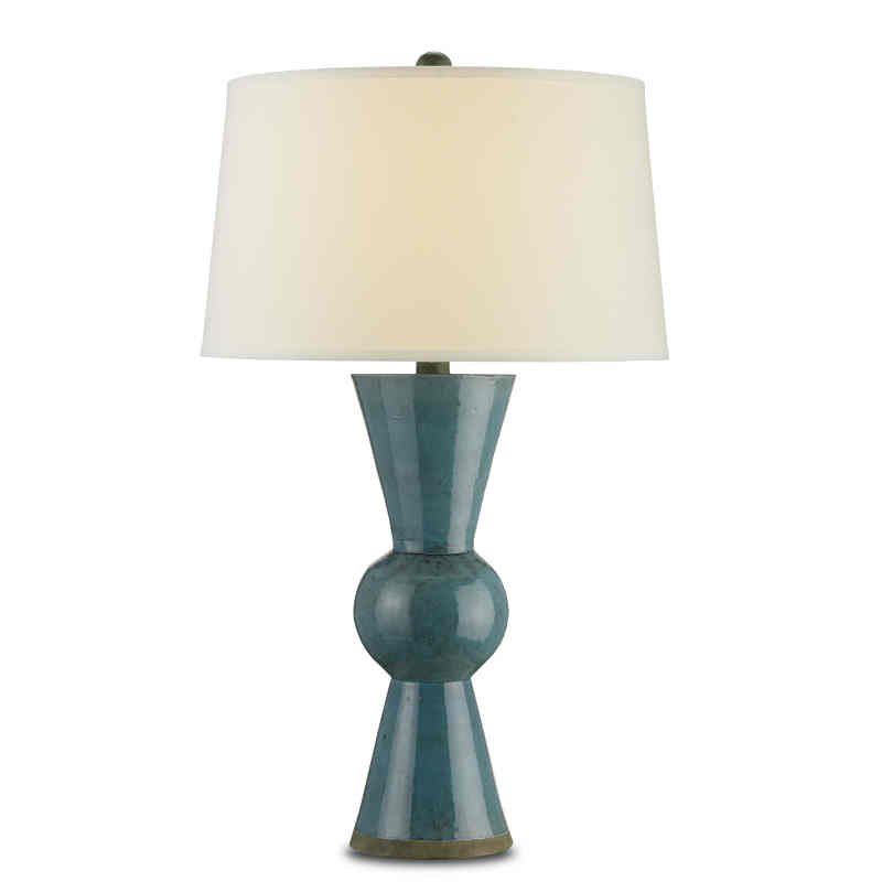 Upbeat Table Lamp, Teal