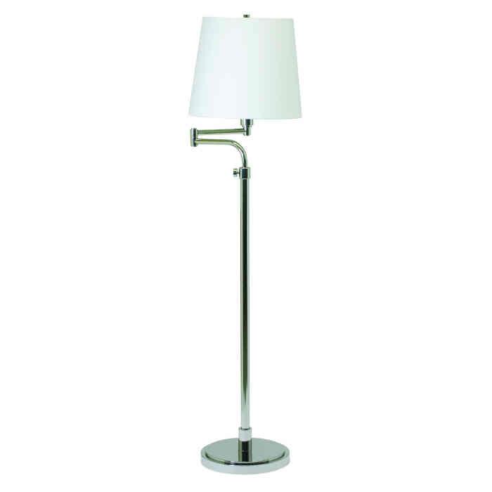 Townhouse Adjustable Height Swing Arm Floor Lamp