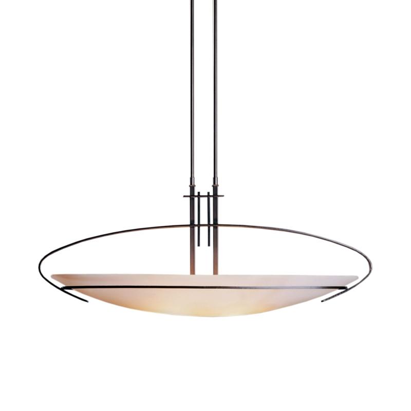 Hubbardton Forge Glass Shades: Hubbardton Forge Mackintosh Oval Pendant, Medium