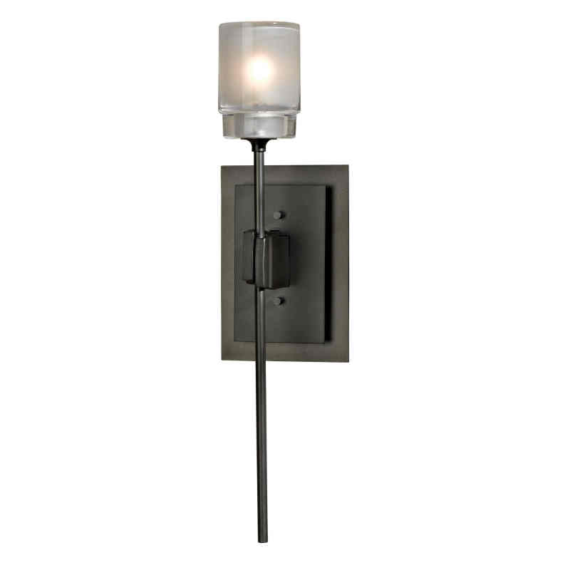 Hubbardton Forge Glass Shades: Hubbardton Forge Echo Single Light Wall Sconce With Clear