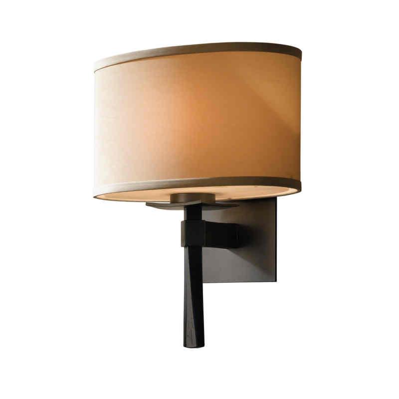 Hubbardton Forge Lamp Shades: Hubbardton Forge Single Light Beacon Hall Wall Sconce With