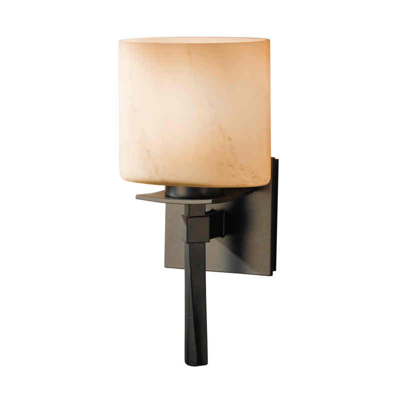 Hubbardton Forge Glass Shades: Hubbardton Forge Beacon Hall Single Light Wall Sconce With