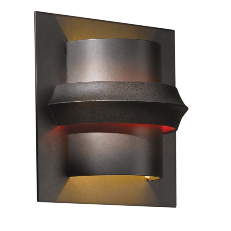 Hubbardton Forge Twilight: Hubbardton Forge Twilight Wall Sconce With Glass Options
