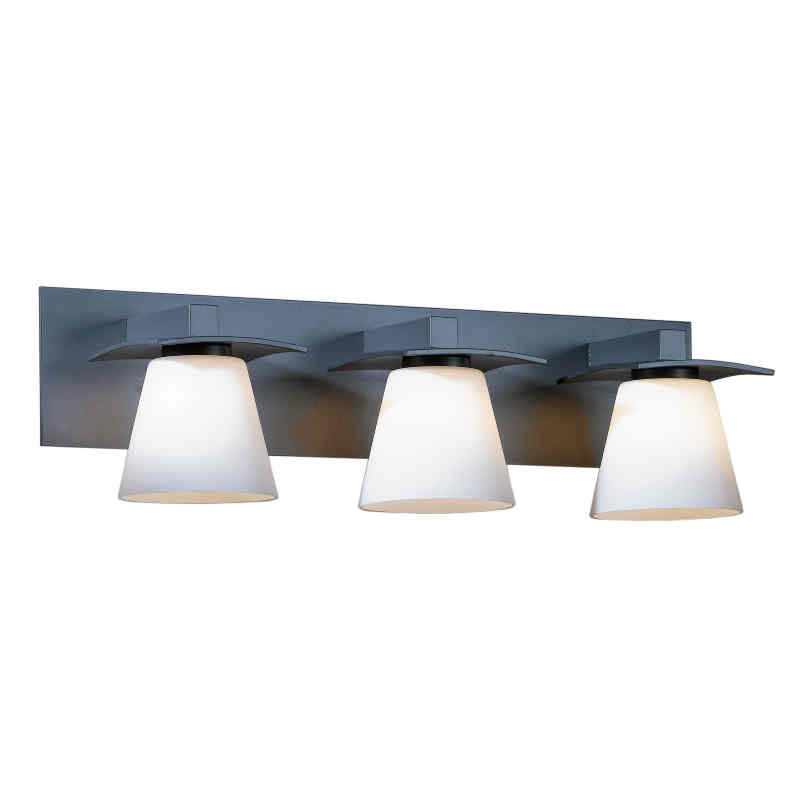 Hubbardton Forge Glass Shades: Hubbardton Forge Wren 3-Light Wall Sconce With Glass