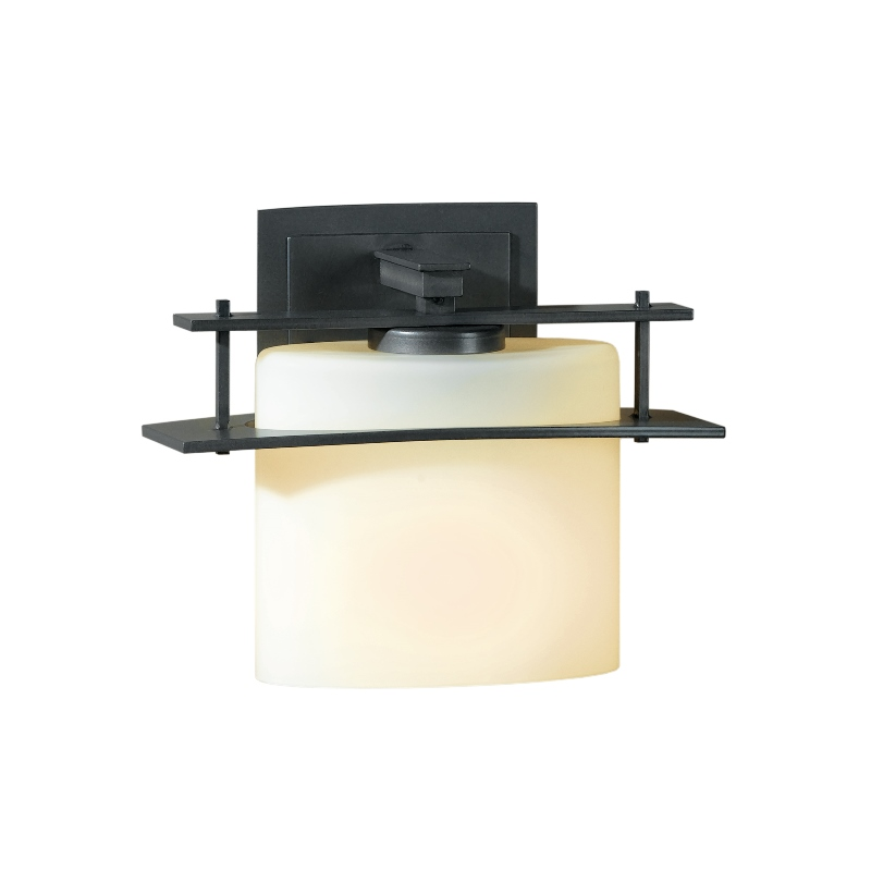 Hubbardton Forge Glass Shades: Hubbardton Forge Arc Ellipse Wall Sconce With Glass