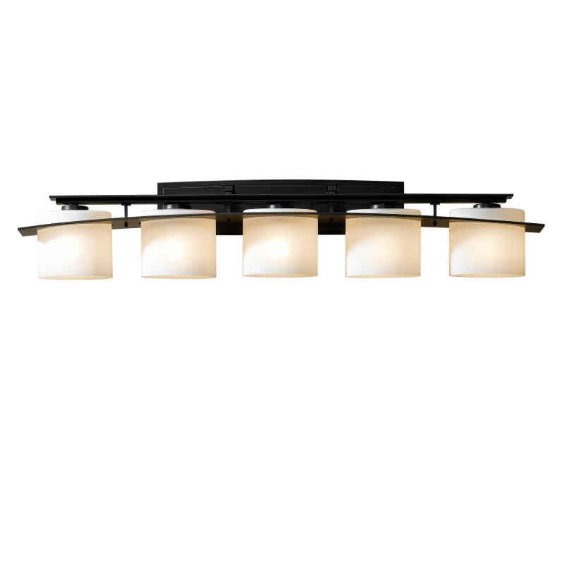 Hubbardton Forge Glass Shades: Hubbardton Forge Arc Ellipse 5-Light Wall Sconce With