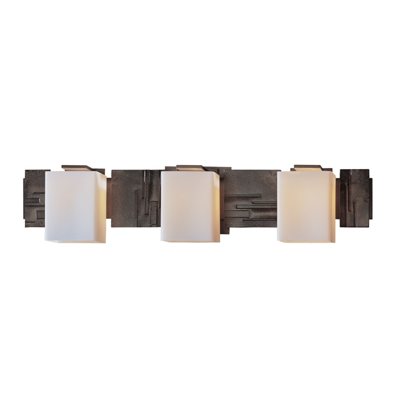Hubbardton Forge Impressions 3 Light Wall Sconce With Glass Options Concord Lamp And Shade