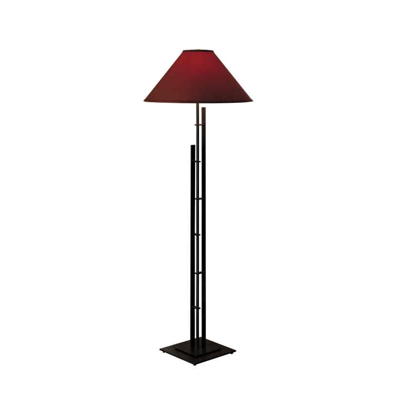 Hubbardton Forge Lamp Shades: Hubbardton Forge Metra Double Floor Lamp