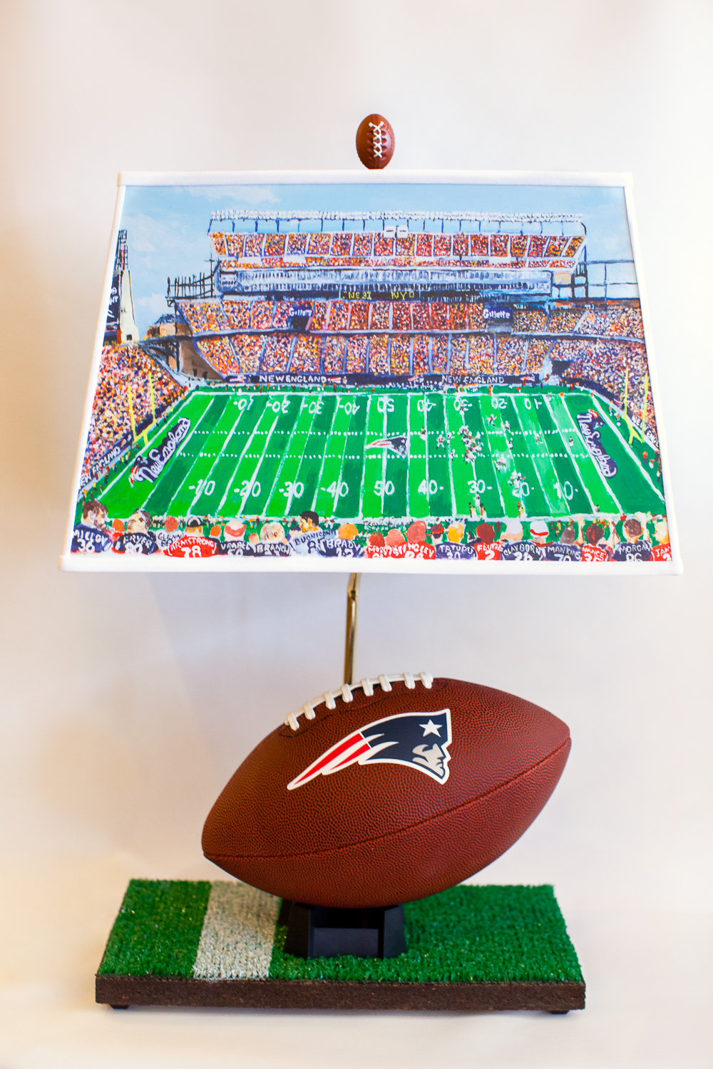 Patriots Football Lamp