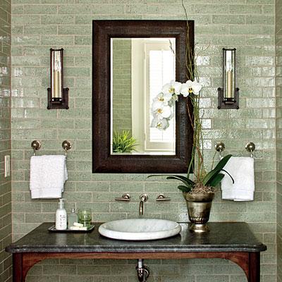 1 Light Bath Sconces