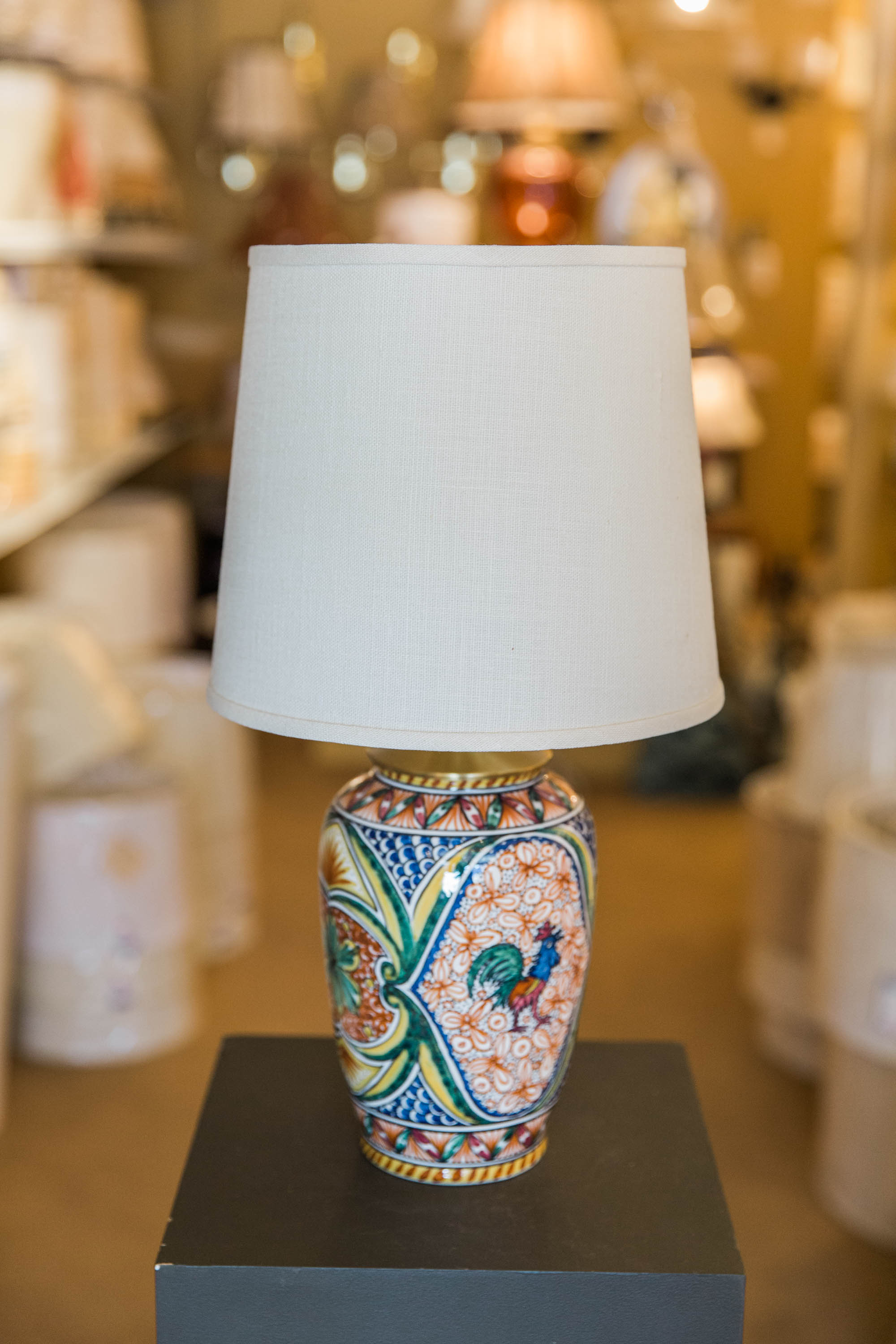 Finest New at Our Shop: Hand-Painted Portuguese Pottery Lamps - Concord  PJ76