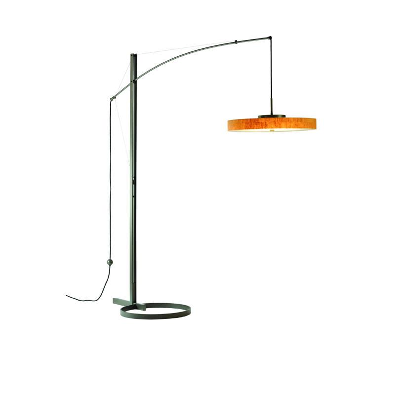 Hubbardton Forge Lamp Shades: Hubbardton Forge Disq Arc LED Floor Lamp