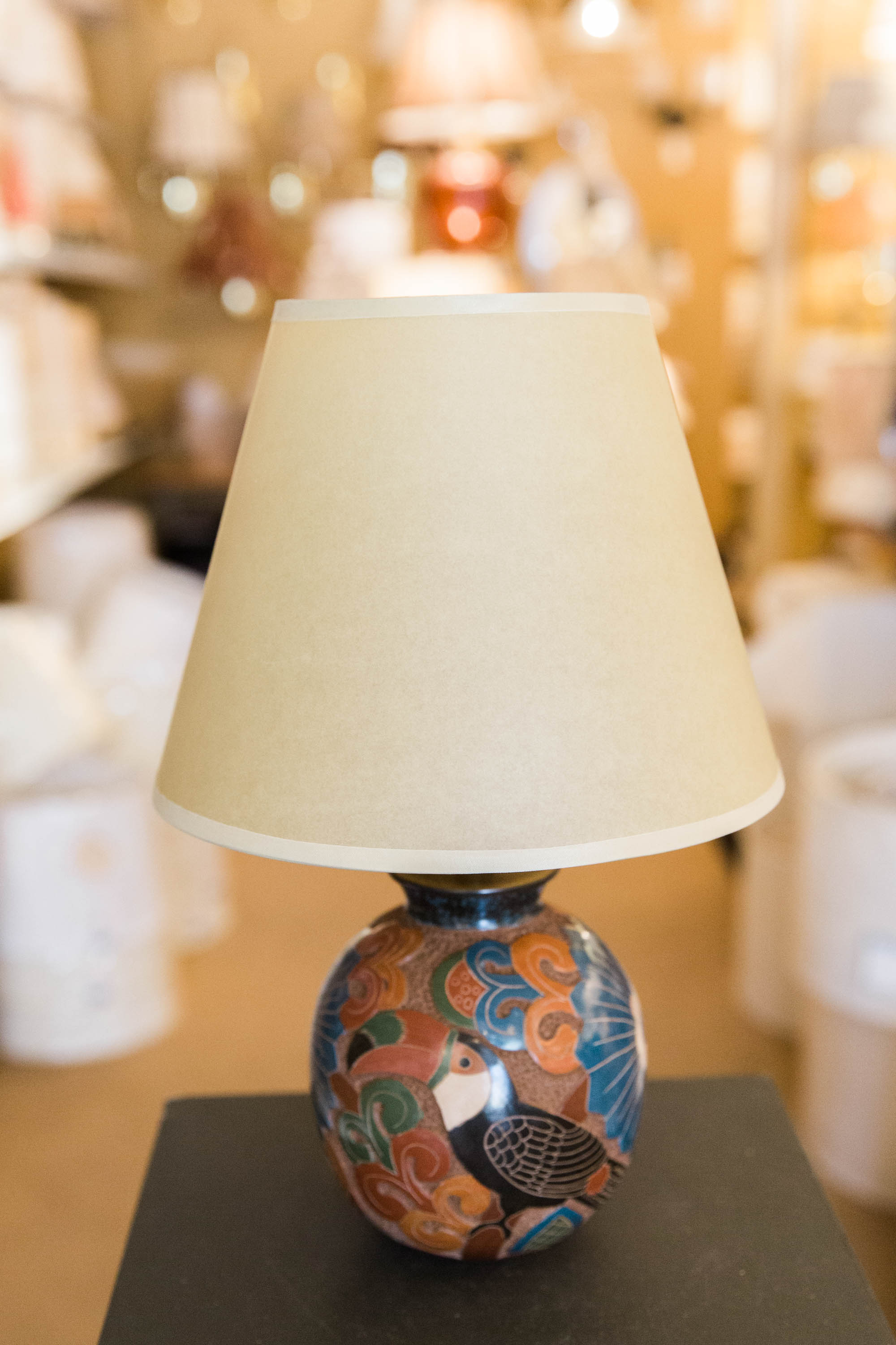 New at our shop nicaraguan carved wood lamps concord lamp and shade clas91715 18 clas91715 24 mozeypictures Images