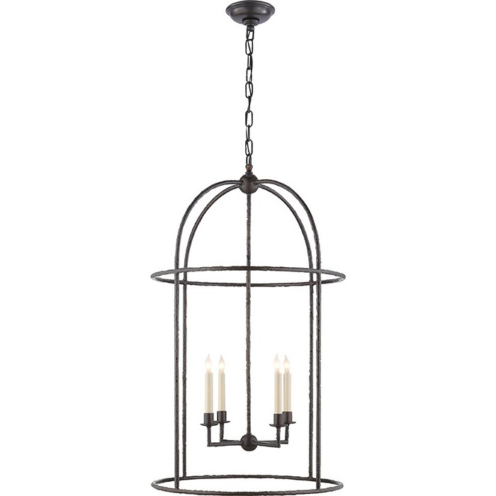 Visual comfort Desmond 4-Light Cage Lantern