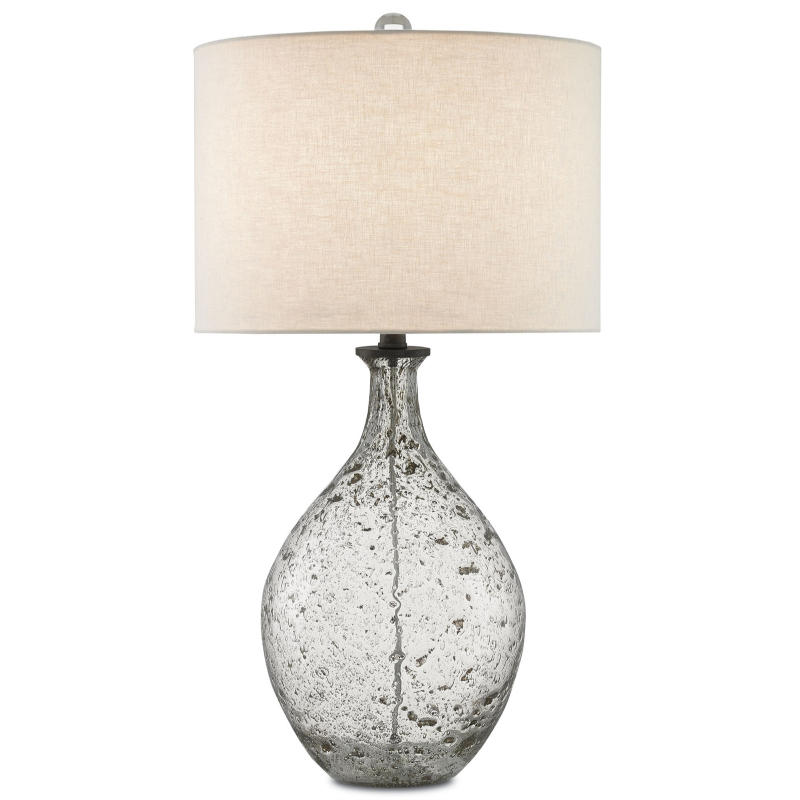 Currey Luc Seeded Glass Table Lamp Concord Lamp And Shade