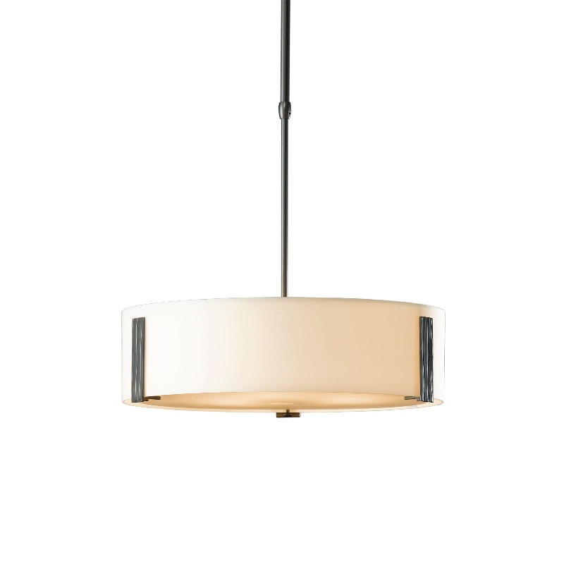 Hubbardton Forge Ebay: Hubbardton Forge Impressions Adjustable Pendant With Glass
