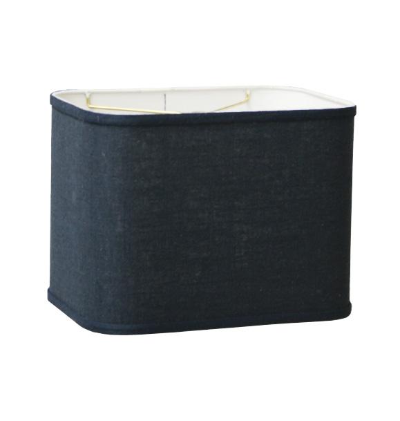 Round Corner Retro Rectangle Drum Hardback Lampshades
