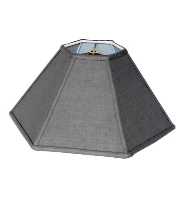Hexagon Coolie Hardback Lampshades
